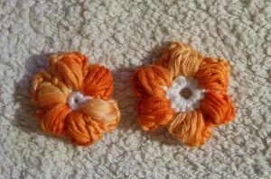 Puff Stitch Blume