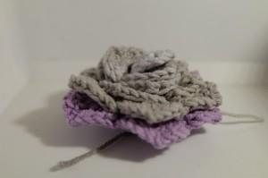 Wickelblume - Schuppenstich